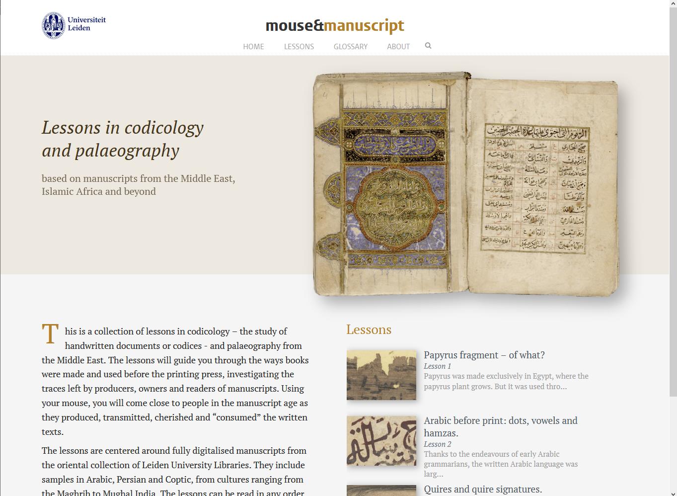 201112 Mouse and manuscript